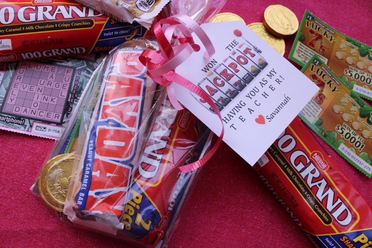 Jackpot Teacher Valentine Prada Meets Purell